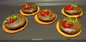 Mushroom Galauti on Saffron Brioche