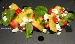 Melon & Feta plate