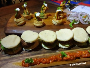 Chicken Tikka Canapés and the Undercover Greek